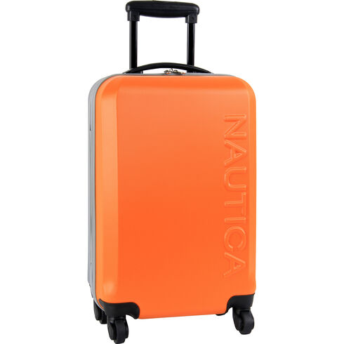 "Ahoy Hardside 21"" Rolling Carry-On Luggage - Navigator Orange"