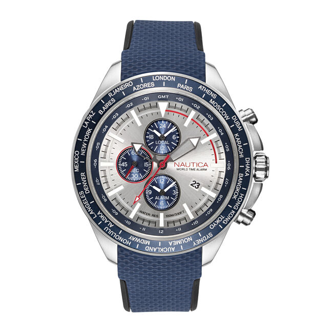 OCEAN BEACH CHRONOGRAPH WATCH,Multi,large