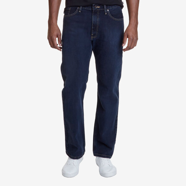 Relaxed Fit Jean - Black Sea Wash