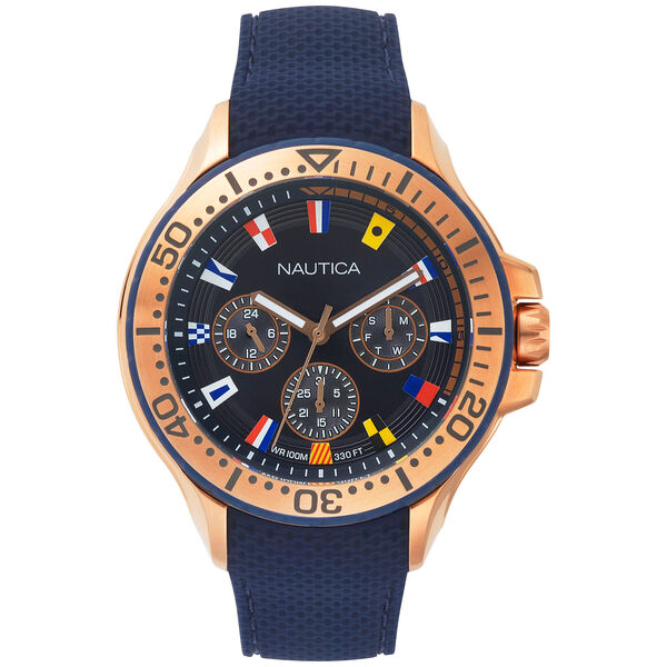 Auckland Multifunction Watch - Blue - Ice Blue