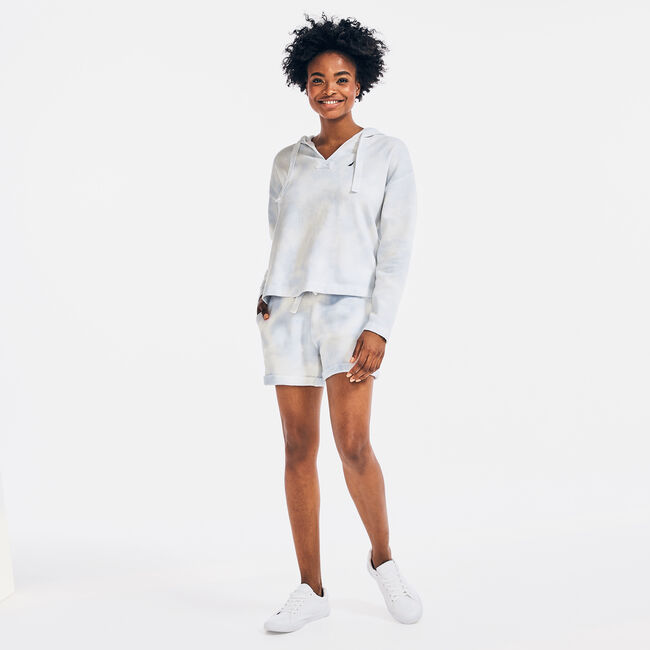 CLOUD WASH PULLOVER HOODIE,Bright White,large