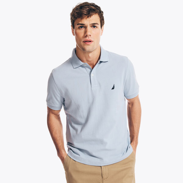 CLASSIC FIT DECK POLO - Noon Blue