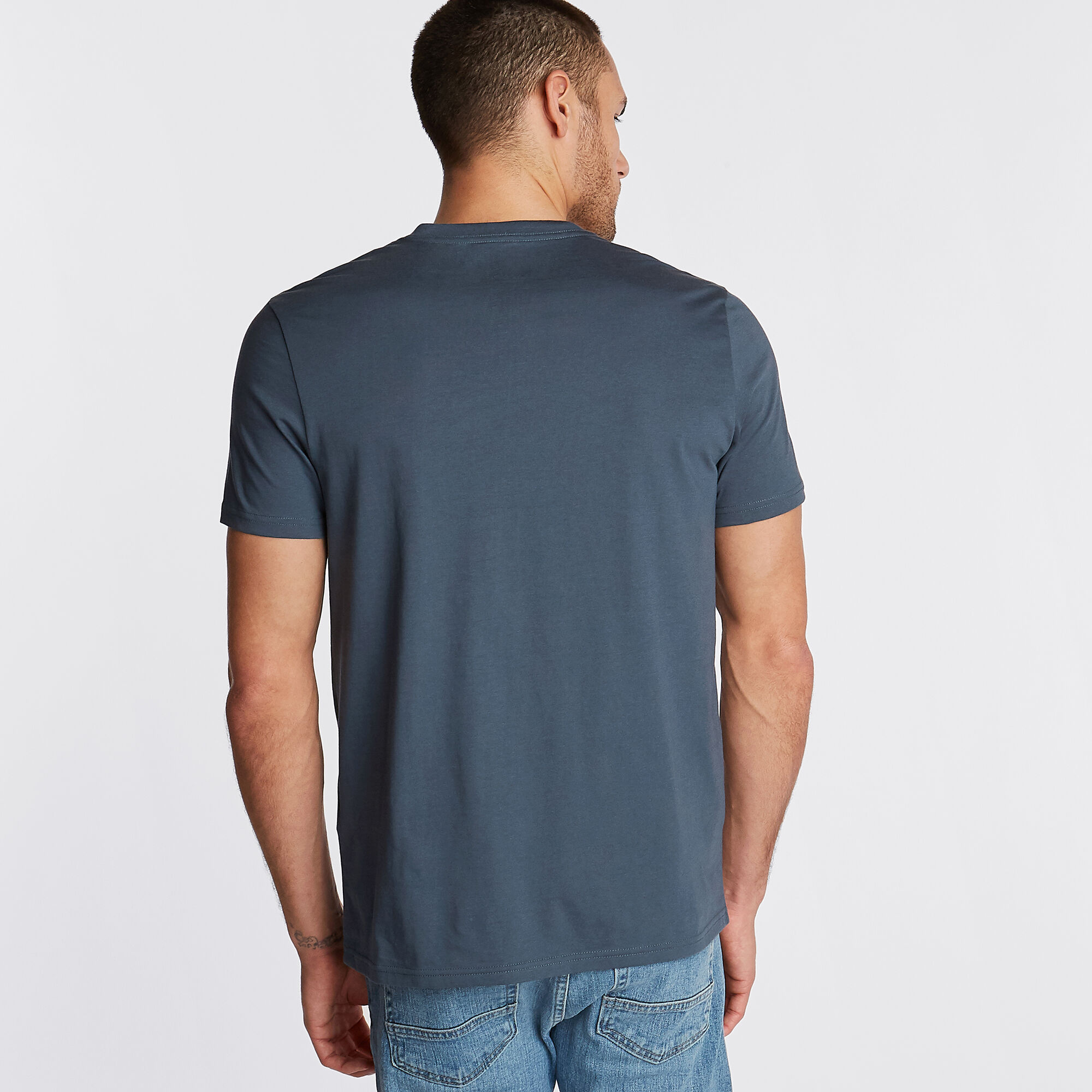 Nautica-Mens-V-Neck-Short-Sleeve-T-Shirt thumbnail 56