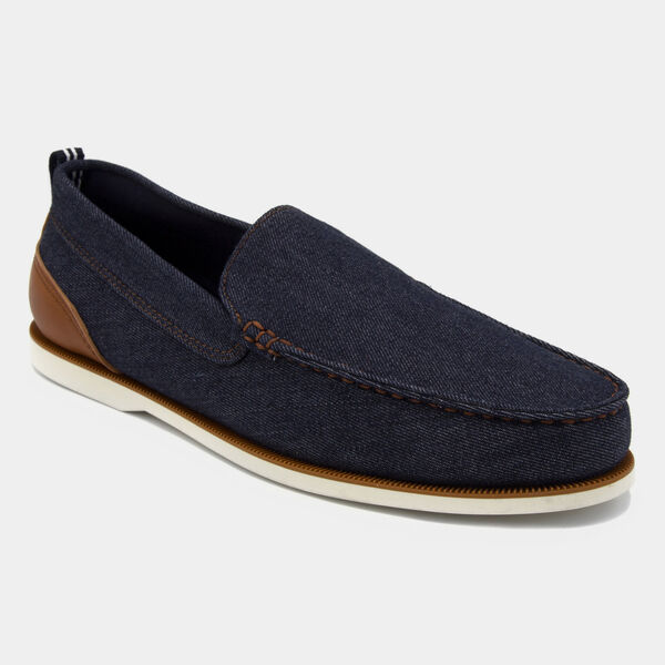 Minter Denim Slip-On Loafers - Navy Dusk