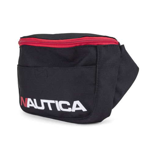 Racer Logo Belt Bag in Black - True Black