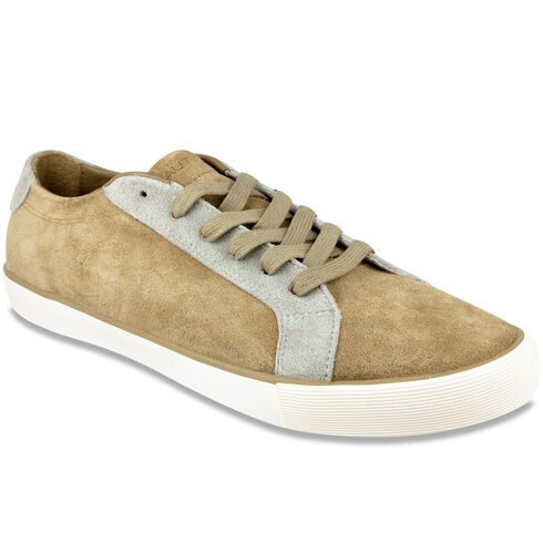 Chatfield Sneakers - Khaki Suede - British Khaki