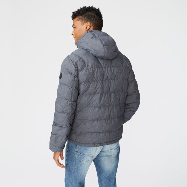 HOODED JACKET,Grey Shadow,large