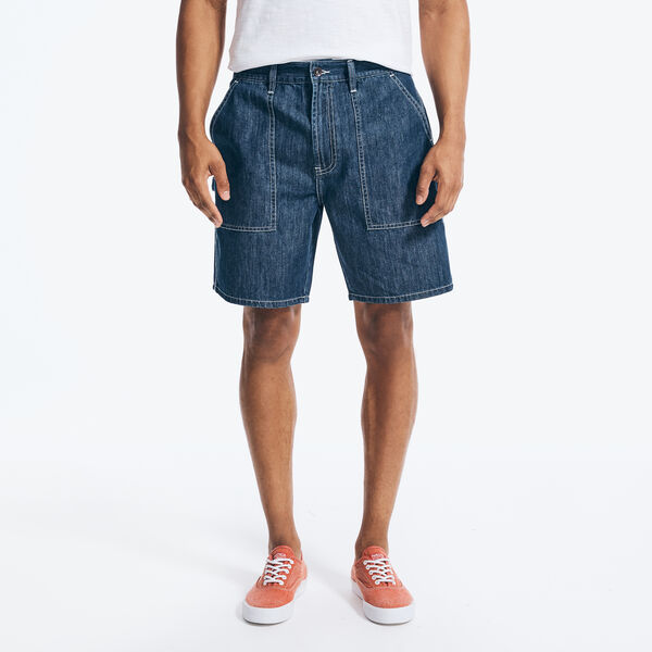 NAUTICA JEANS CO. CARPENTER DENIM SHORT - Noon Blue