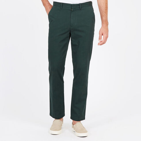 Classic Fit Bedford Cord Pants - Kelp Seas