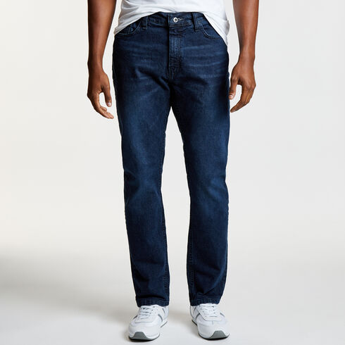 Smokey Blue Wash Slim Fit Jeans - Classic Blue