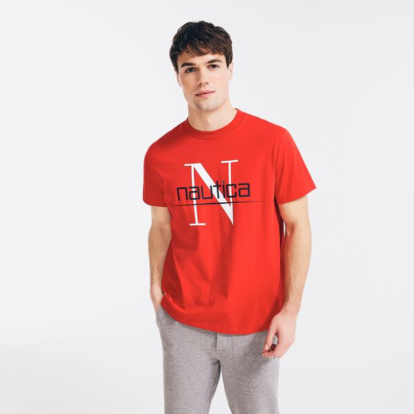 REISSUE LOGO GRAPHIC T-SHIRT - Tomales Red