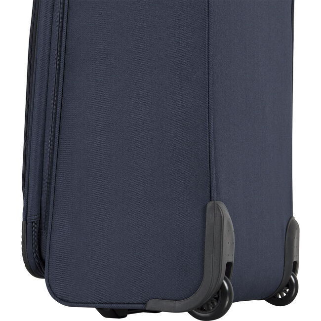 """Hayes Point 28"""" Expandable Luggage in Navy/Yellow,Navy,large"""