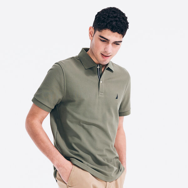 CLASSIC FIT PERFORMANCE PIQUE POLO - Everglades Green