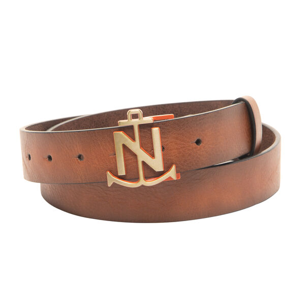 LOGO PLAQUE BELT - Military Tan