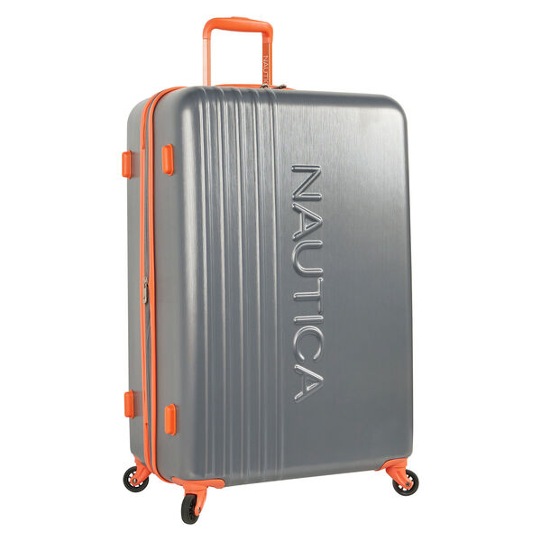 "Lifeboat 28"" Expandable Spinner Luggage - Grey Heather"