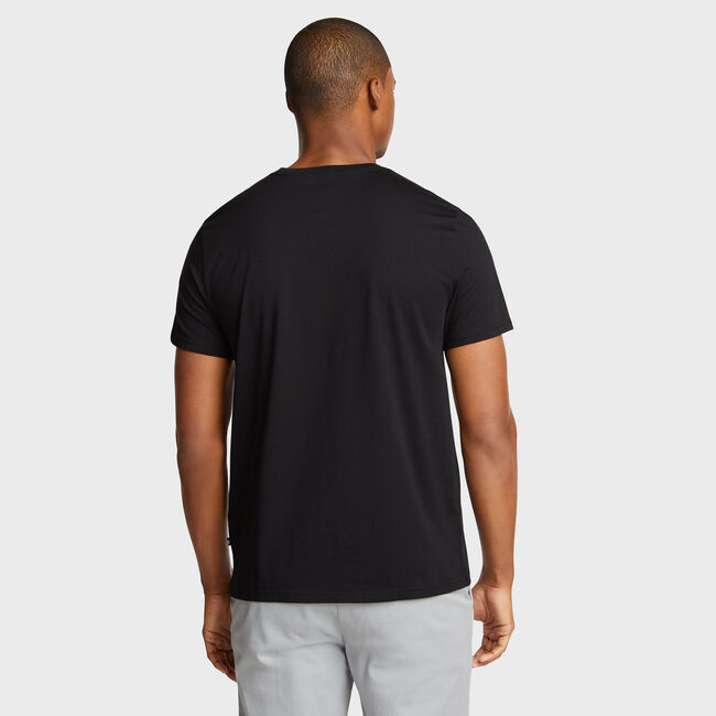City By The Sea Short Sleeve Tee,True Black,large