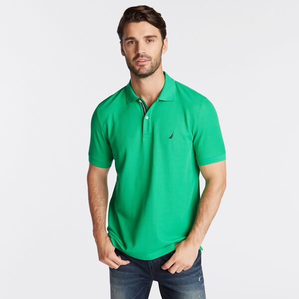 CLASSIC-FIT PERFORMANCE POLO - Bright Green