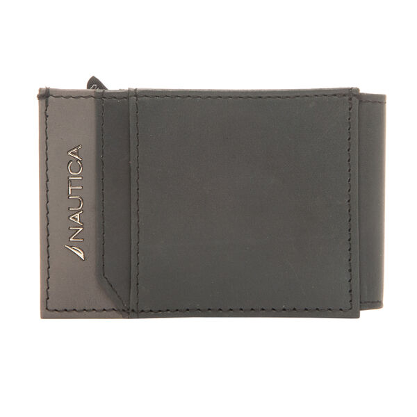 BRENDAN MAGNETIC SLIMFOLD WALLET IN BLACK - True Black