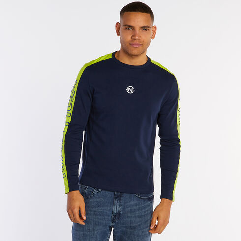 Competition Long Sleeve Crewneck T-Shirt - Navy