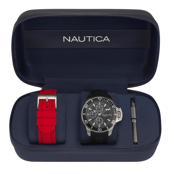 Bayside Watch Gift Set with Sport Strap - Multi