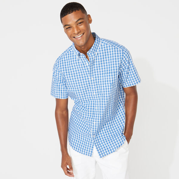 CLASSIC FIT PLAID OXFORD SHIRT - Star Sapphire