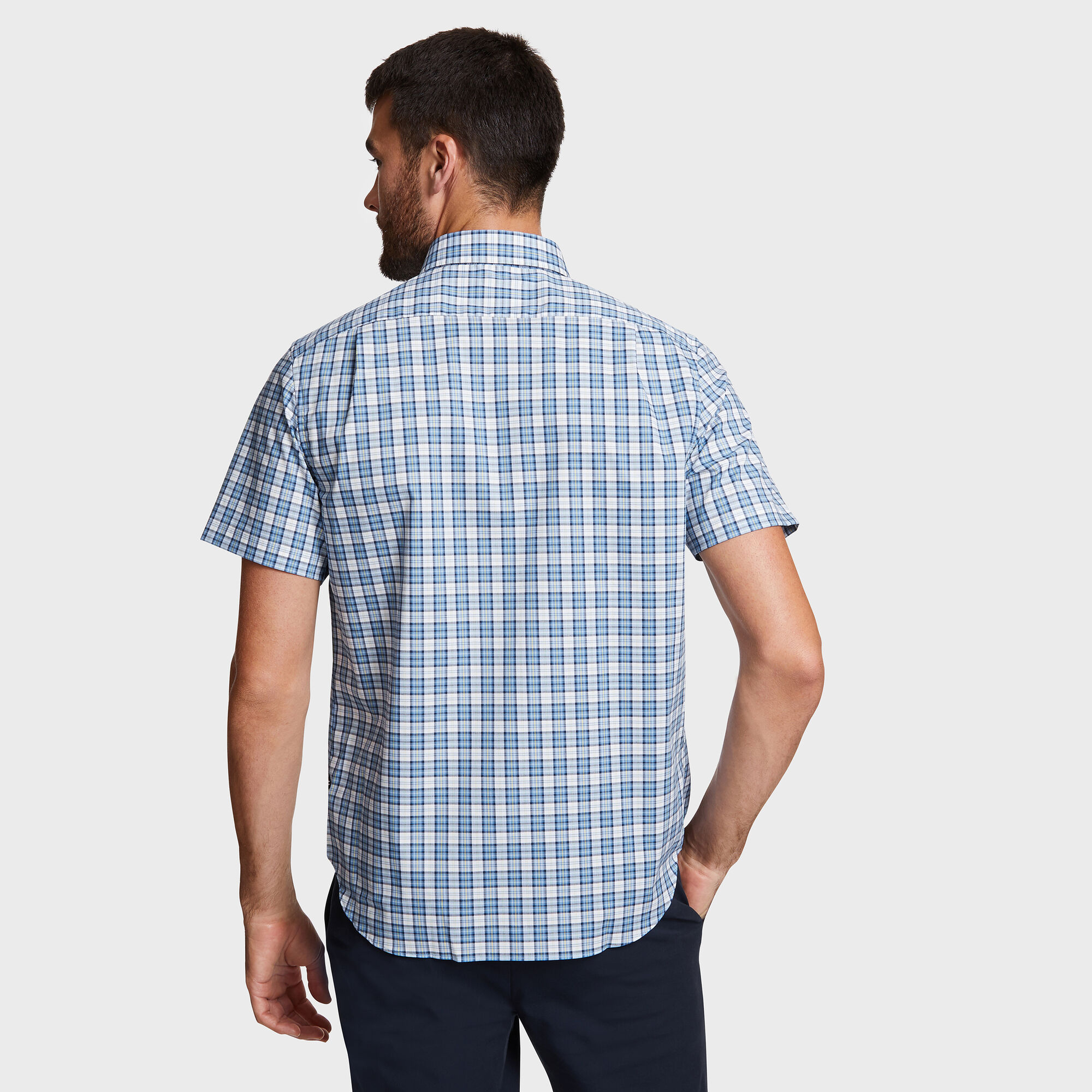 63fbcb9d How To Wear Short Sleeve Plaid Shirts - DREAMWORKS