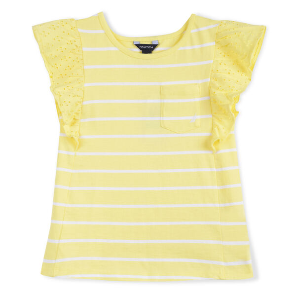 GIRLS' KNIT TOP - Lemonade