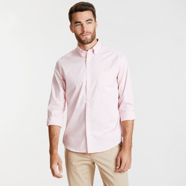 CLASSIC FIT WRINKLE RESISTANT SOLID SHIRT - Orchid Pink