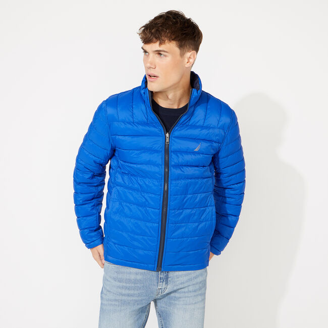 LIGHTWEIGHT REVERSIBLE JACKET WITH TEMPASPHERE,Grey Alloy,large