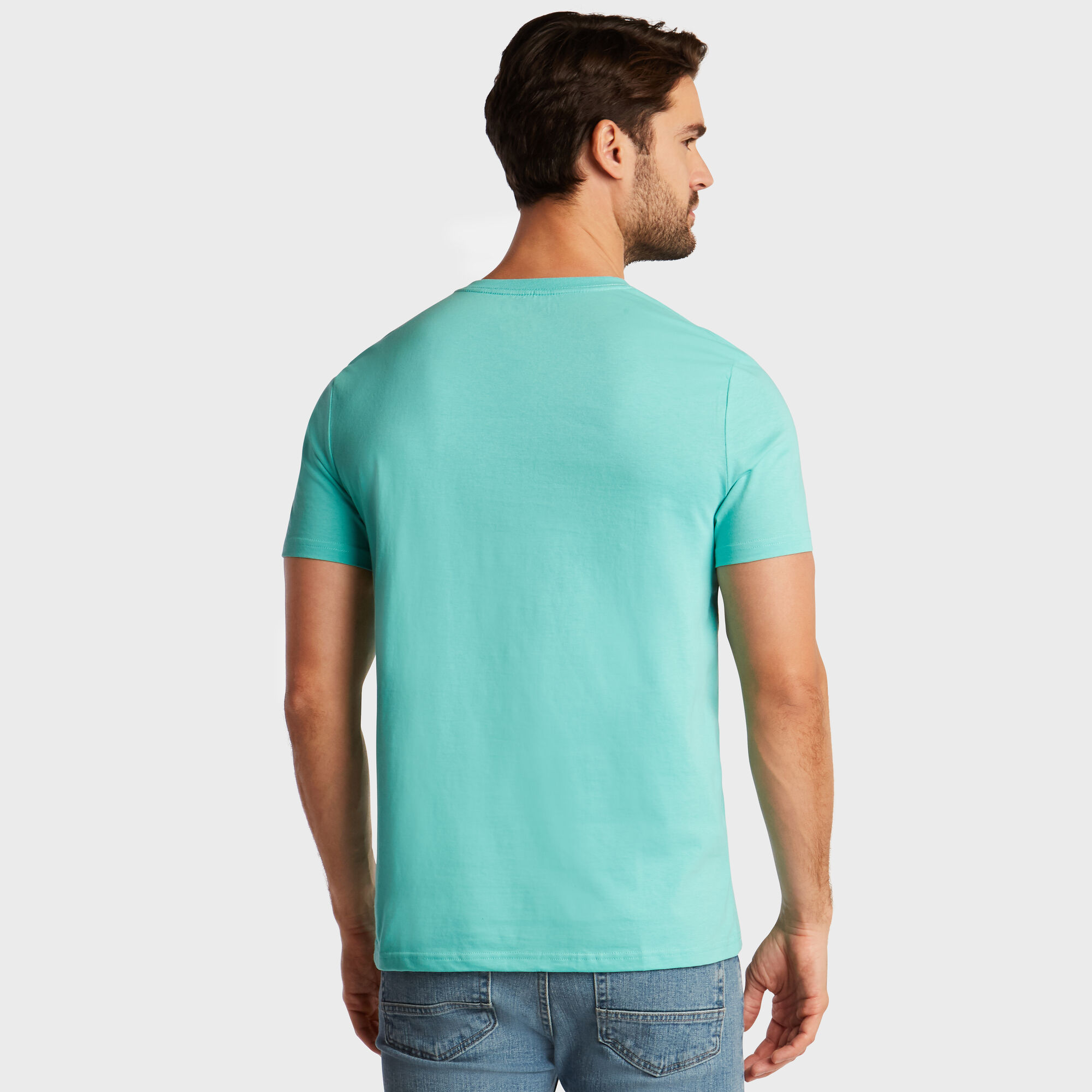 Nautica-Mens-V-Neck-Short-Sleeve-T-Shirt thumbnail 48