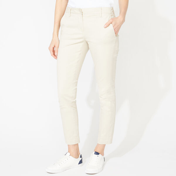 SLIM FIT ANKLE CHINOS - Oyster Bay Heather