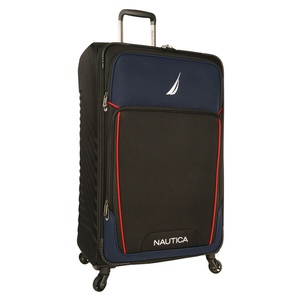 "Dockyard 29"" Expandable Spinner Luggage - Black"