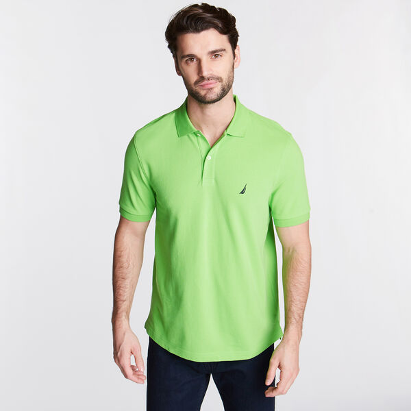 CLASSIC FIT DECK POLO - Freshlime