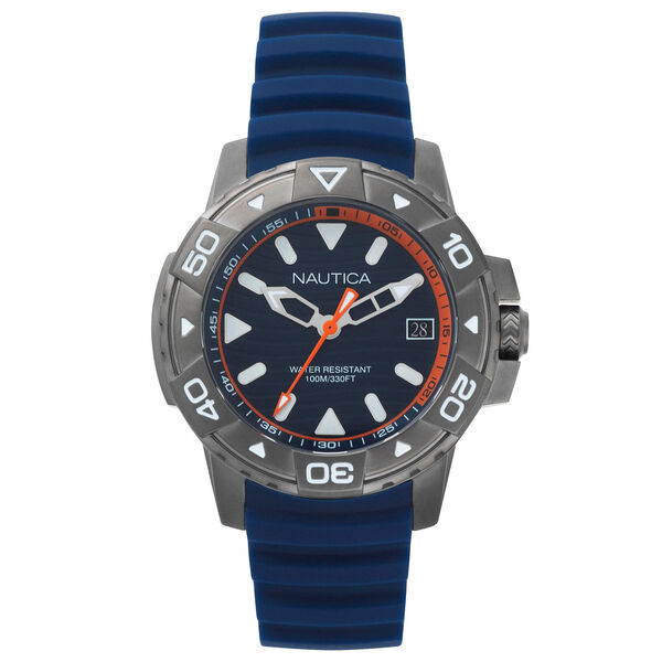 Edgewater Silicone Watch - Navy - Pure Dark Pacific Wash