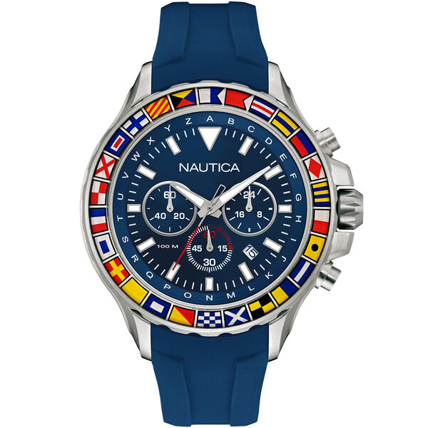 NST 1000 Chronograph Sport Watch - Blue - Multi
