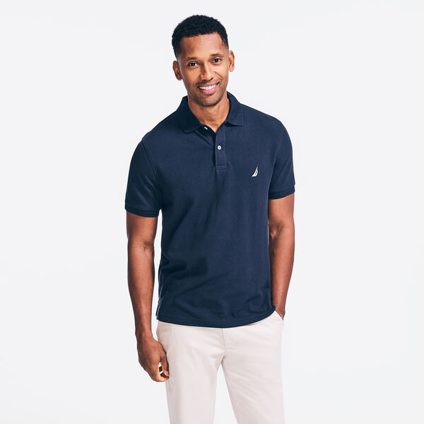CLASSIC FIT DECK POLO - Navy