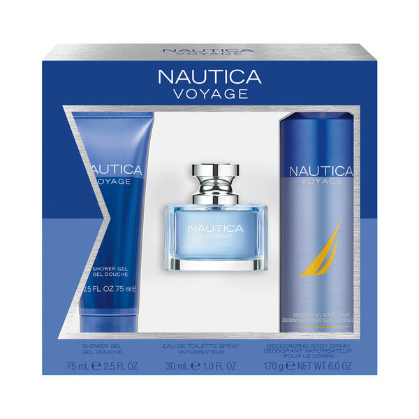 Nautica Voyage 3-Piece Fragrance Set - Multi