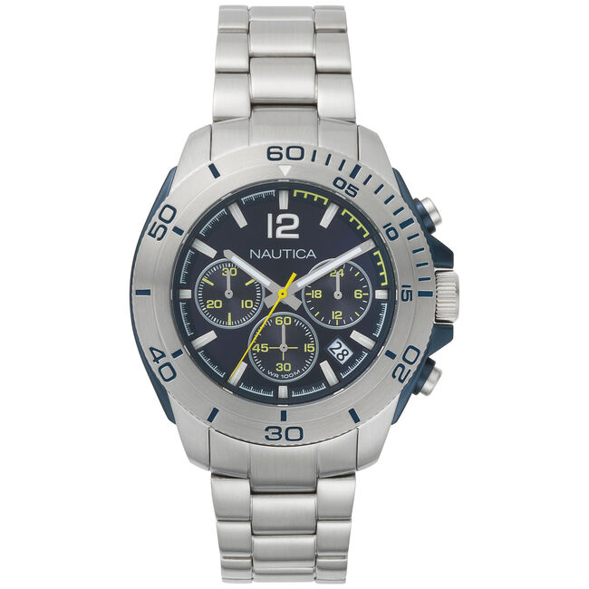Andover Chronograph Watch - Blue,Multi,large