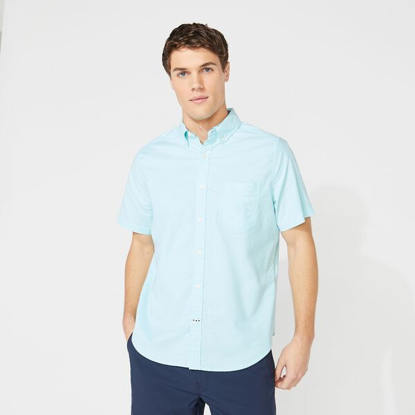 SHORT SLEEVE OXFORD SHIRT - Aquasplash