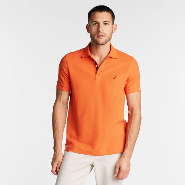 SLIM FIT PERFORMANCE MESH POLO - Rustic Sunset
