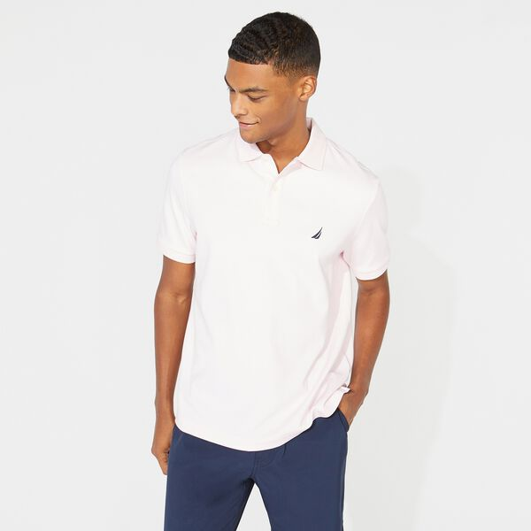 CLASSIC FIT PREMIUM COTTON POLO - Cradle Pink