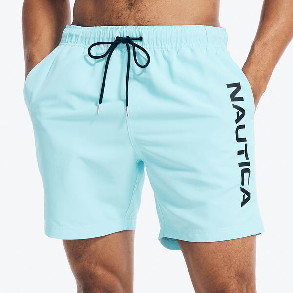 "6"" SOLID NEON LOGO SWIM - Surf Water Wash"