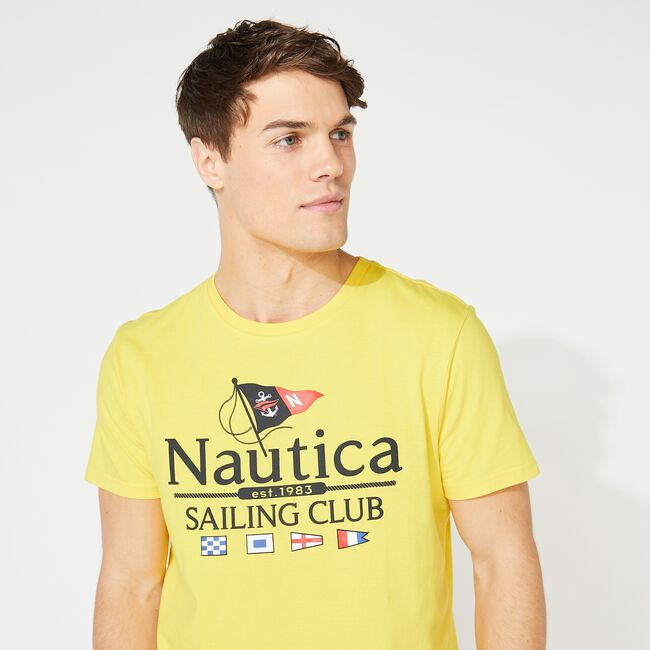 NAUTICA SAILING CLUB GRAPHIC TEE,Nautica,large