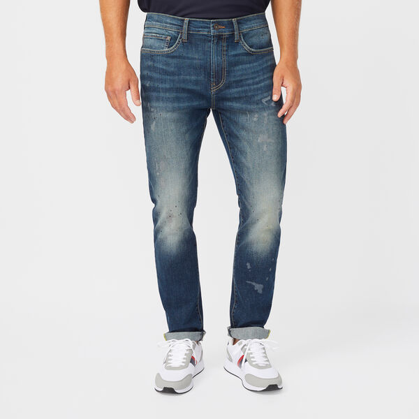 SUSTAINABLY CRAFTED NAUTICA JEANS CO. SLIM FIT DENIM - Lapis