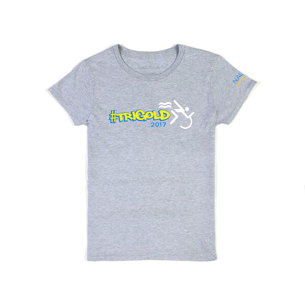 Nautica Malibu Triathlon TriGold Tee - Grey Heather