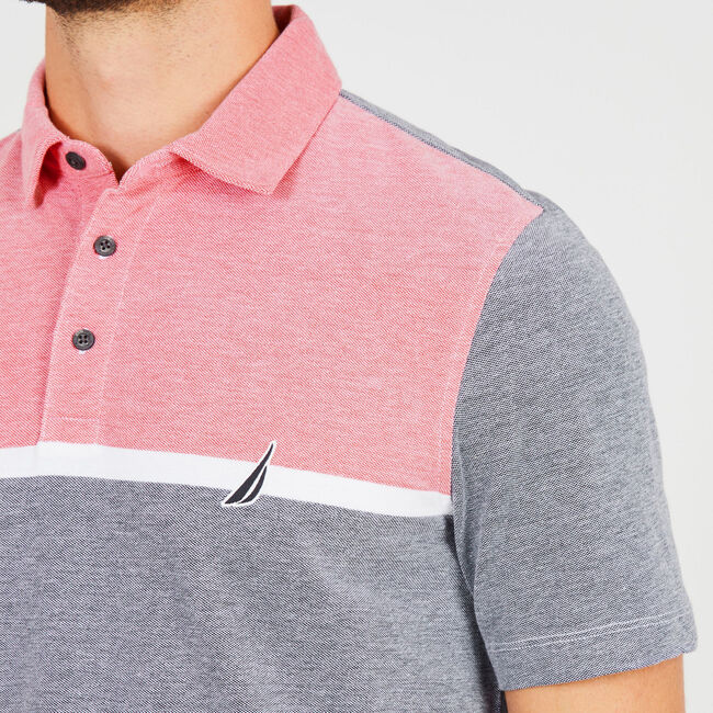 Classic Fit Jersey Palm Springs Polo,True Navy,large