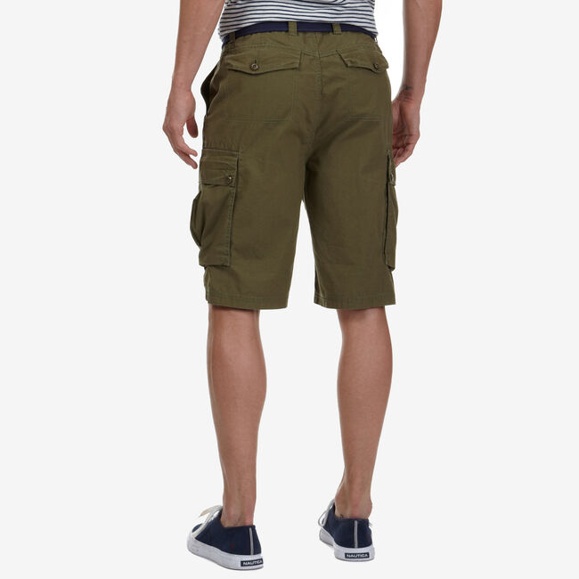 "9.5"" Cargo Ripstop Short   ,Gecko Green,large"