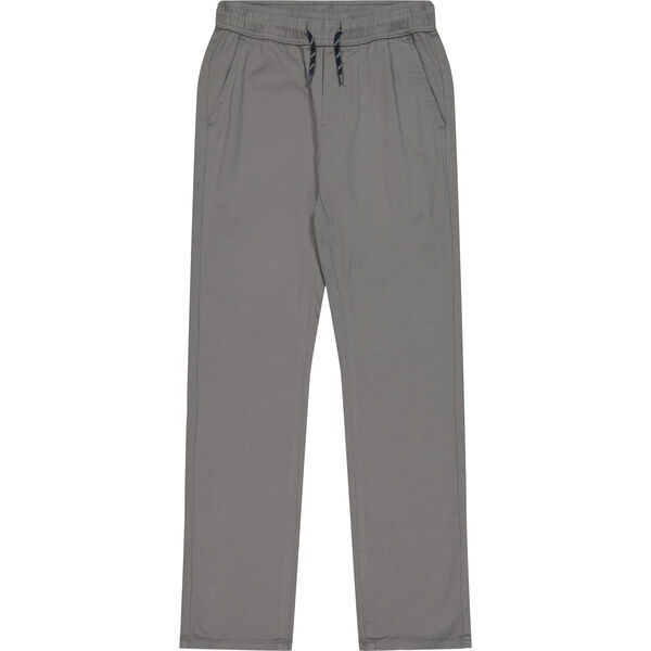 TODDLER BOYS' STRETCH-TWILL JOGGER (2T-4T) - Quarry Heather