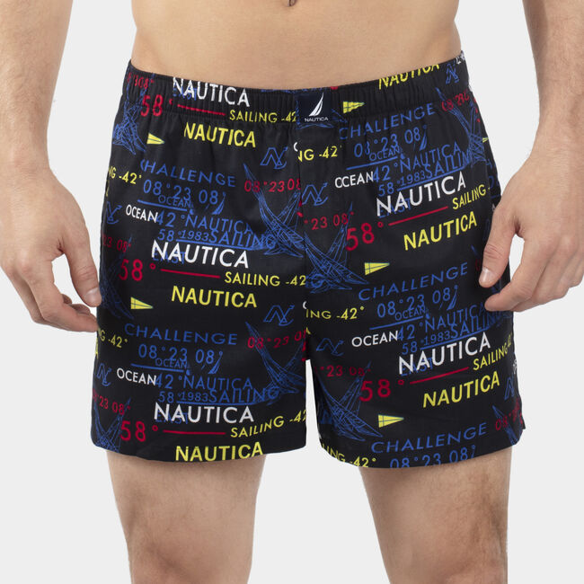 Woven Boxers,Astral Grey,large