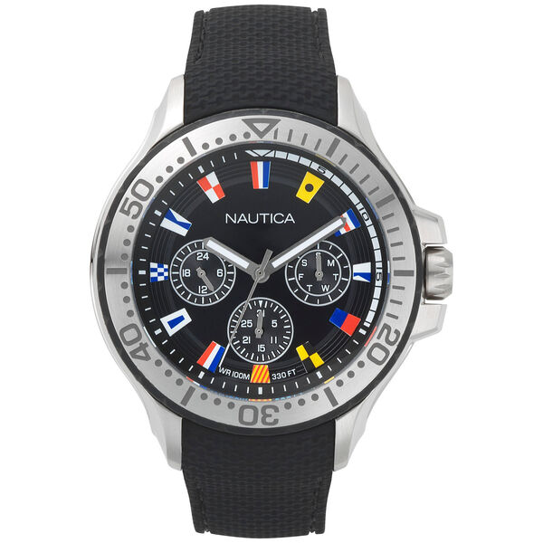 Auckland Multifunction Watch - Black - True Black